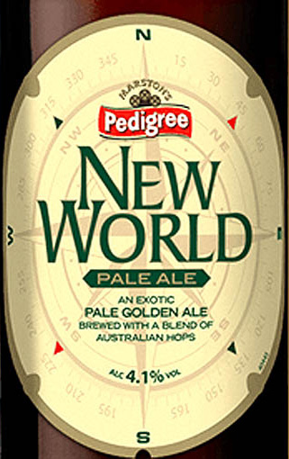 Отзыв о пиве New world pale ale