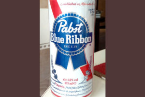 Отзыв о пиве Pabst Blue Ribbon