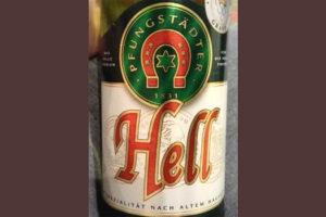 Отзыв о пиве Pfungstadter Hell