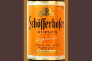 Отзыв о пиве Schofferhofer hefeweizen premium bier