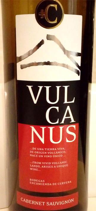 Отзыв о вине Vulcanus cabernet sauvignon 2011