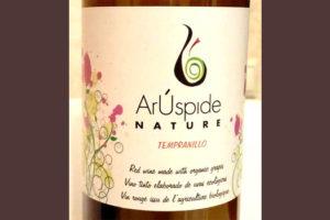 Отзыв о вине ArUspide nature tempranillo 2016