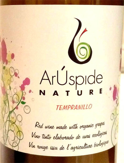 Отзыв о вине ArUspide nature tempranillo 2016