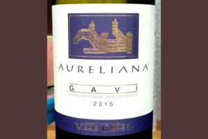 Отзыв о вине Aureliana gavi Vite Colte 2015