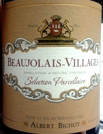 Отзыв о вине Beaujolais-Villages Albert Bichot 2015