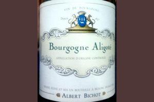 Отзыв о вине Bourgogne Aligote Albert Bichot 2014