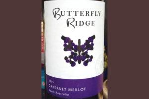 Отзыв о вине Butterfly Ridge cabernet merlot 2015