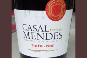 Отзыв о вине Casal Mendes tinto 2015