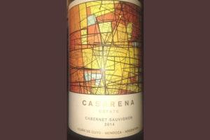 Отзыв о вине Casarena Estate cabernet sauvignon 2014