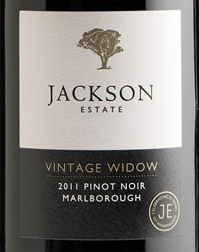 Отзыв о вине Jackson Estate vintage widow pinot noir 2012