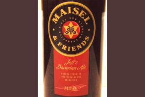 Отзыв о пиве Jeff's Bavarian Ale Maisel & friends