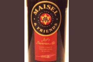 Отзыв о пиве Jeff's Bavarian Ale Maisel & friends