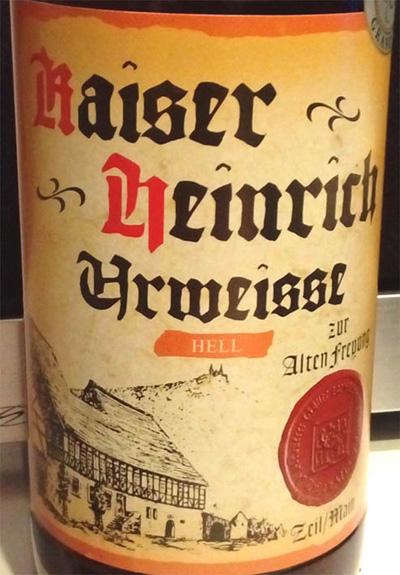 Отзыв о пиве Kaiser Heinrich urweisse hell
