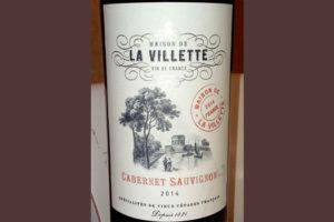 Отзыв о вине La Villette cabernet sauvignon 2014