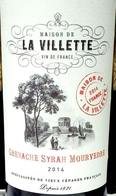 Отзыв о вине Maison de la Villitte grenache syrah mourvedre 2014