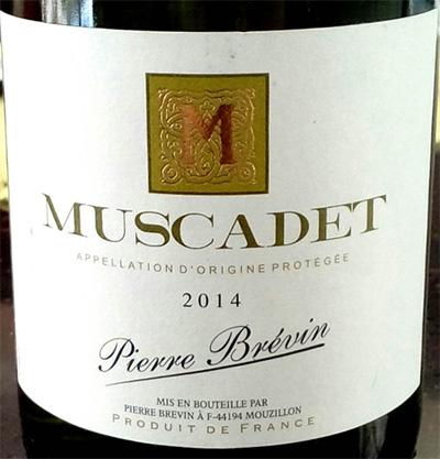 Отзыв о вине Muscadet Pierre Brevin 2014