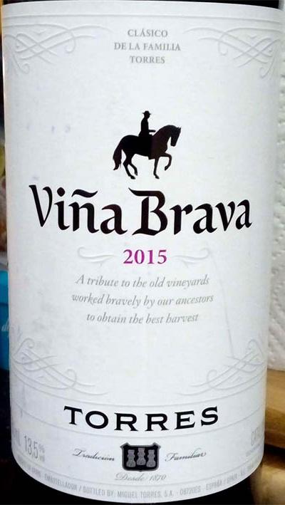 Отзыв о вине Vina Brava Torres garnacha carignena 2015