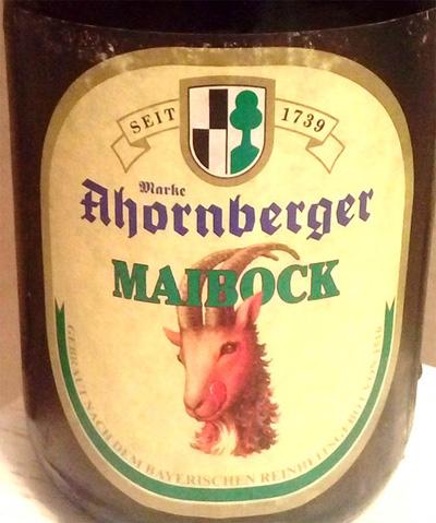 Отзыв о пиве Ahornberger Maibock
