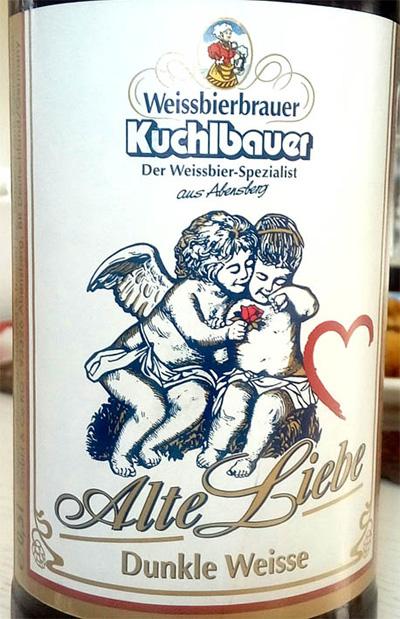 Отзыв о пиве Alte Liebe dunkle weisse