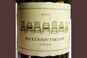 Отзыв о вине Boekenhoutskloof syrah 2013