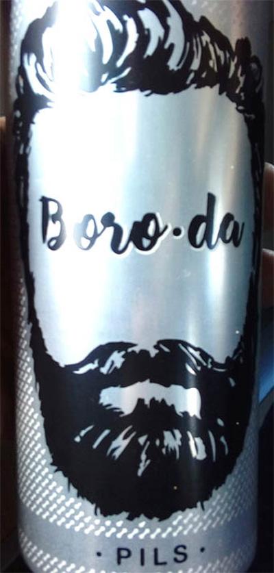 Отзыв о пиве Boro-Da (Борода) Pils