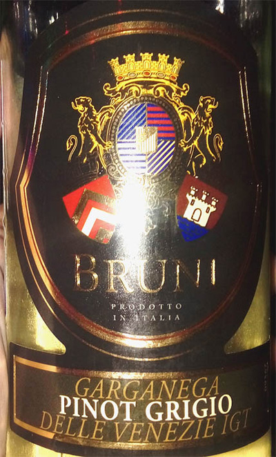 Отзыв о вине Bruni Pinot Grigio Garganega 2015