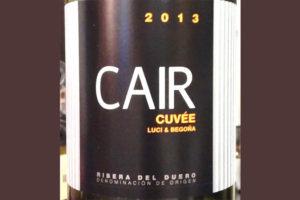 Отзыв о вине Cair Cuvee luci & begona 2013