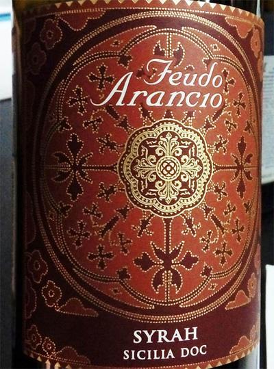 Отзыв о вине Feudo Arancio syrah 2014