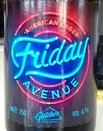 Отзыв о пиве Friday Avenue american lager