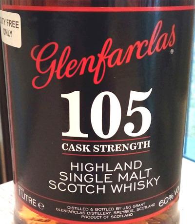 Отзыв о виски Glenfarclas 105 cask strenght 1 liter