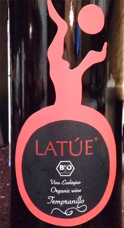 Отзыв о вине Latue original wine tempranillo 2016