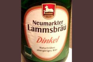 Отзыв о пиве Neumarkter Lammsbrau Dinkel