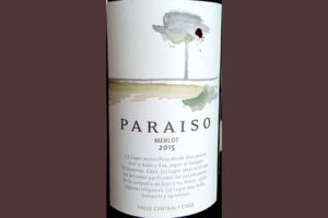 Отзыв о вине Paraiso merlot 2015