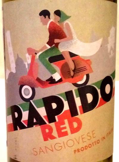 Отзыв о вине Rapido red sangiovese 2015