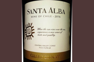 Отзыв о вине Santa Alba chardonnay 2016