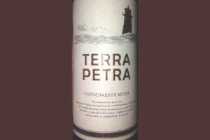 Отзыв о вине Terra Petra полусладкое белое 2016