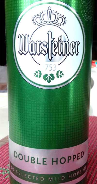 Отзыв о пиве Warsteiner double hopped