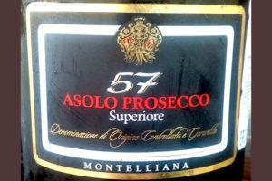 Отзыв об игристом вине 57 Asolo prosecco superiore 2015