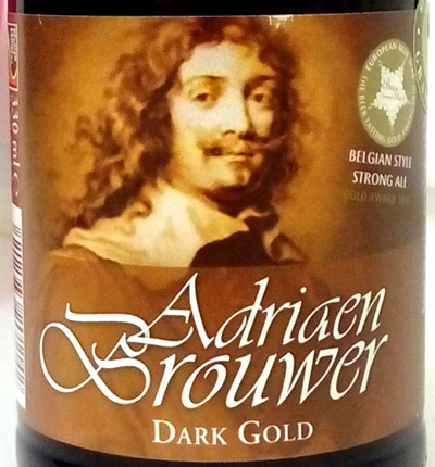Отзыв о пиве Adriaen Brouwer dark gold