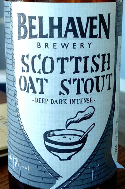 Отзыв о пиве Belheaven Scottish oat stout