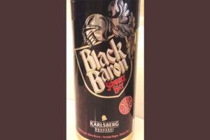 Отзыв о пиве Black Baron schwarz bier Karlsberg