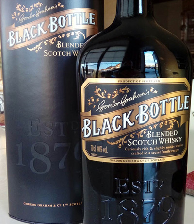 Отзыв о виски Black Bottle blended scotch whisky 0,7 liter