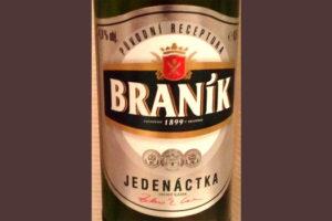 Отзыв о пиве Branik jedenactka