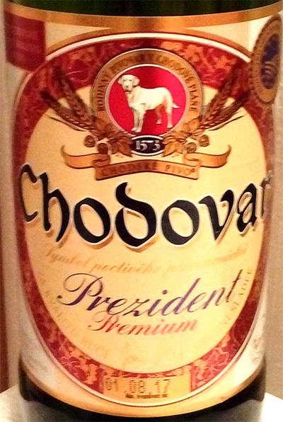 Отзыв о пиве Chodovar prezident premium