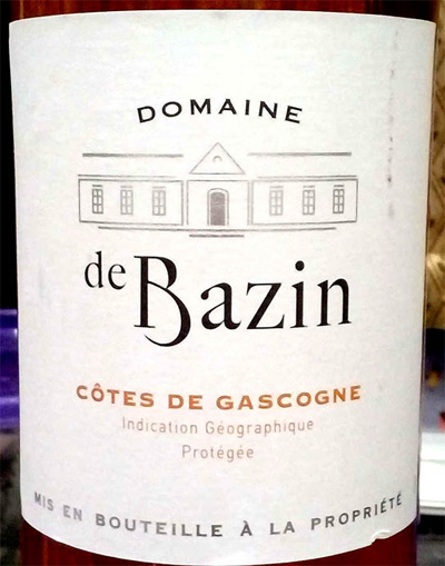 Отзыв о вине Domaine de Bazin Cotes de Gascogne rose 2015
