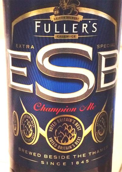 Отзыв о пиве ESB Champions Ale fuller's