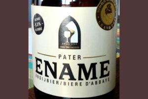Отзыв о пиве Ename pater