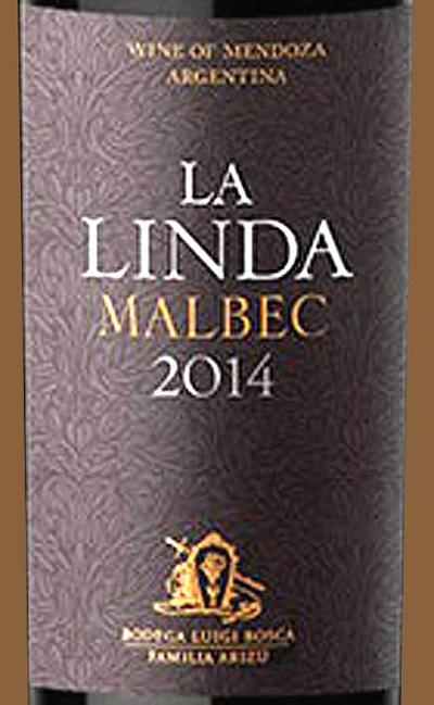 Отзыв о вине Finca La Linda malbec 2014