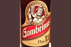 Отзыв о пиве Gambrinus 12 plna