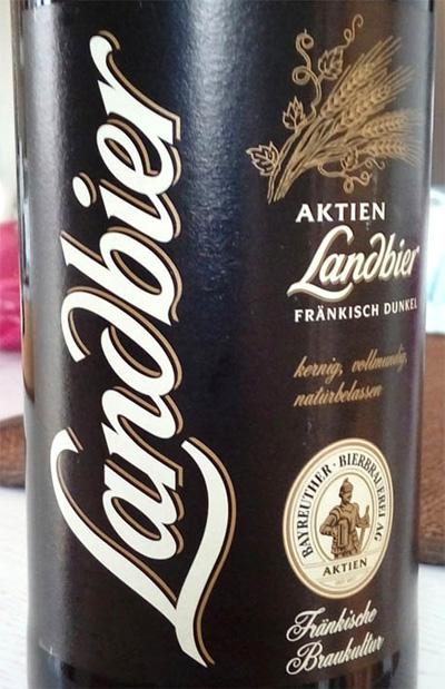 Отзыв о пиве Landbier frankisch dunkel